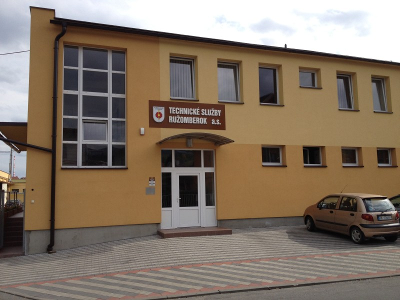 Technické služby Ružomberok a.s., sídlo