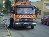 Čistenie a údržba miestnych komunikácií, čistenie cesty