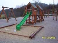 Údržba verejnej zelene, detské ihrisko