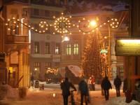 údržba verejného osvetlenia, vianočná výzdoba