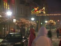 údržba verejného osvetlenia, inštalácie vianočných svetiel