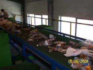 Technické služby Ružomberok, separácia odpadu