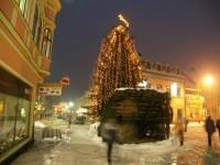 údržba verejného osvetlenia, osvetlenie vianočného stromčeka