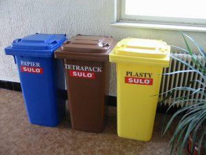 Technické služby Ružomberok, vývoz separovaného odpadu