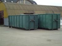 Zber, likvidácia a uskladnenie komunálneho odpadu, kontajnery