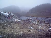 Zber, likvidácia a uskladnenie komunálneho odpadu, skládka odpadu