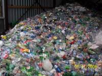 Separovaný zber a spracovanie, kopa odpadu