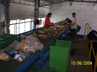 Separovaný zber a spracovanie, spracovanie odpadu